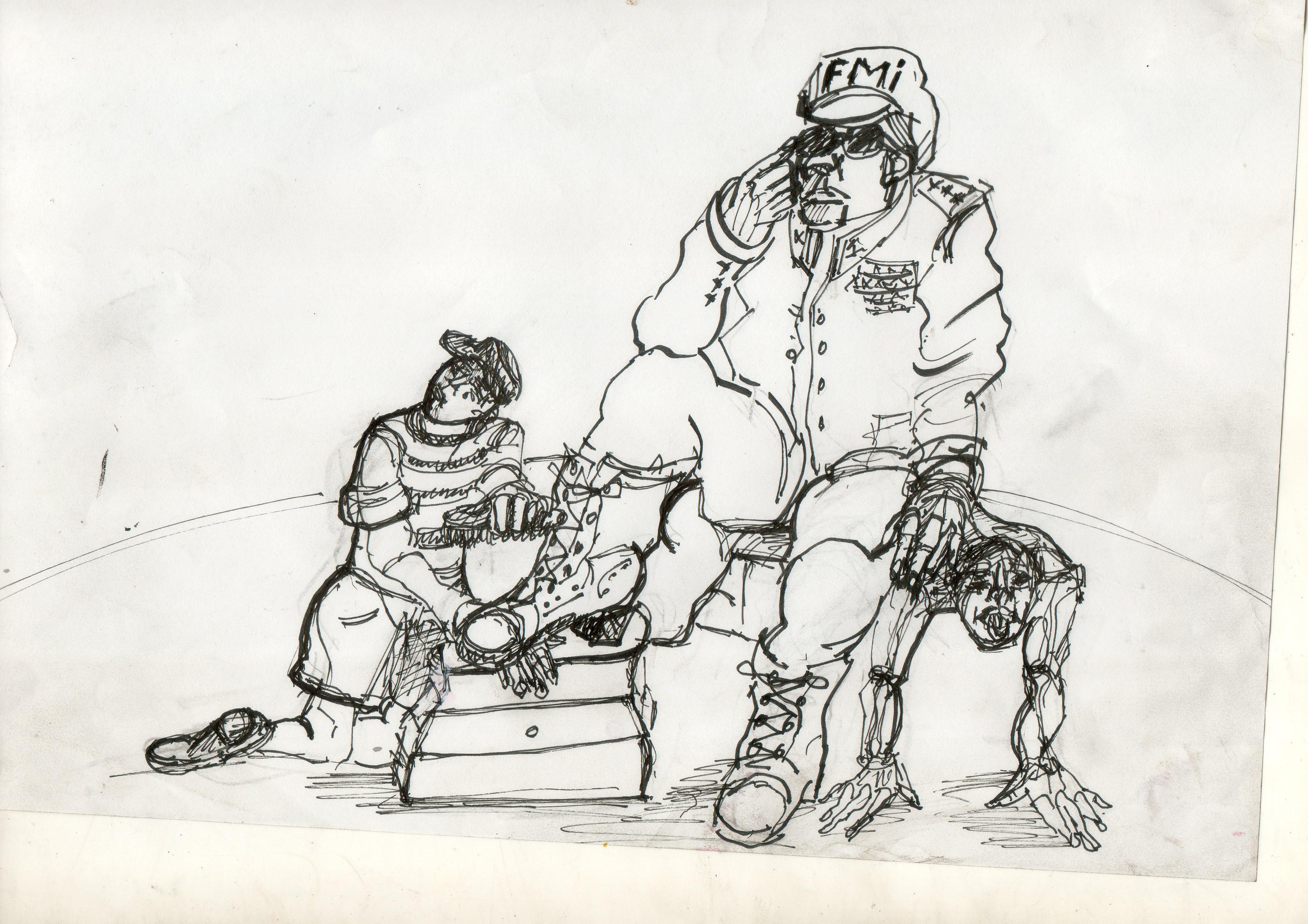 Ilustración de Rubén Borré