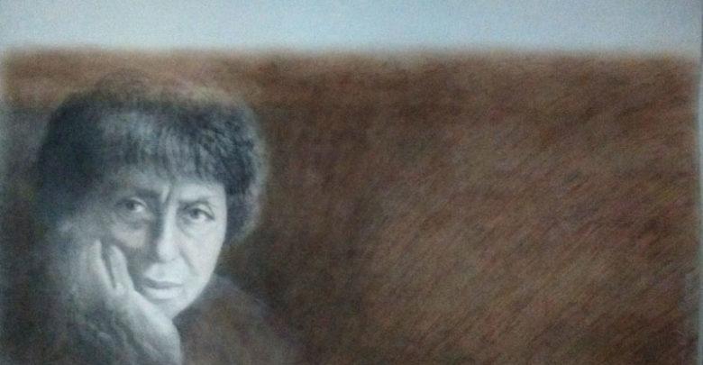 Retrato de Olga Orozco por Ana Godel